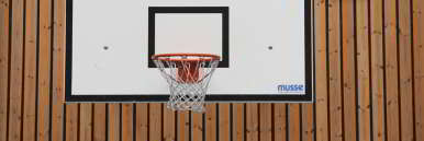 Foto vom Basketball